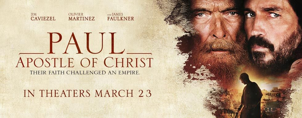 Paul Apostle of Christ - In Theaters Easter 2018