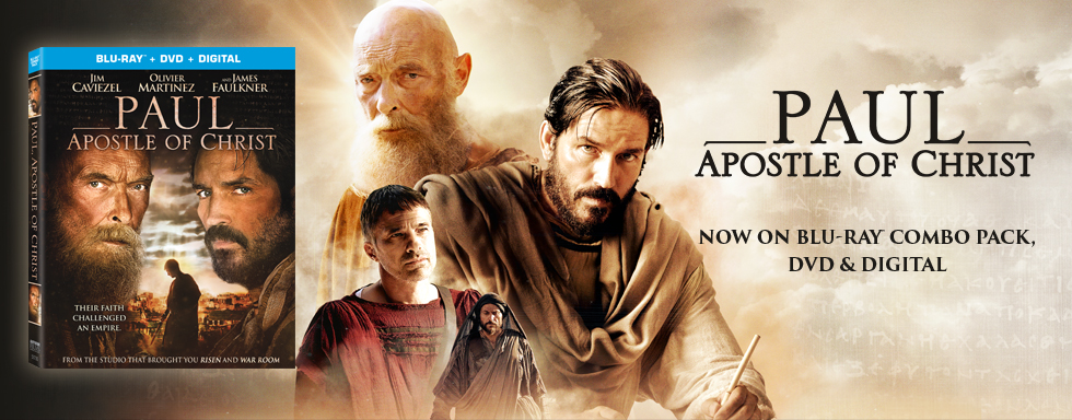 Paul Apostle of Christ - Now on Blu-ray Combo Pack , DVD and Digital